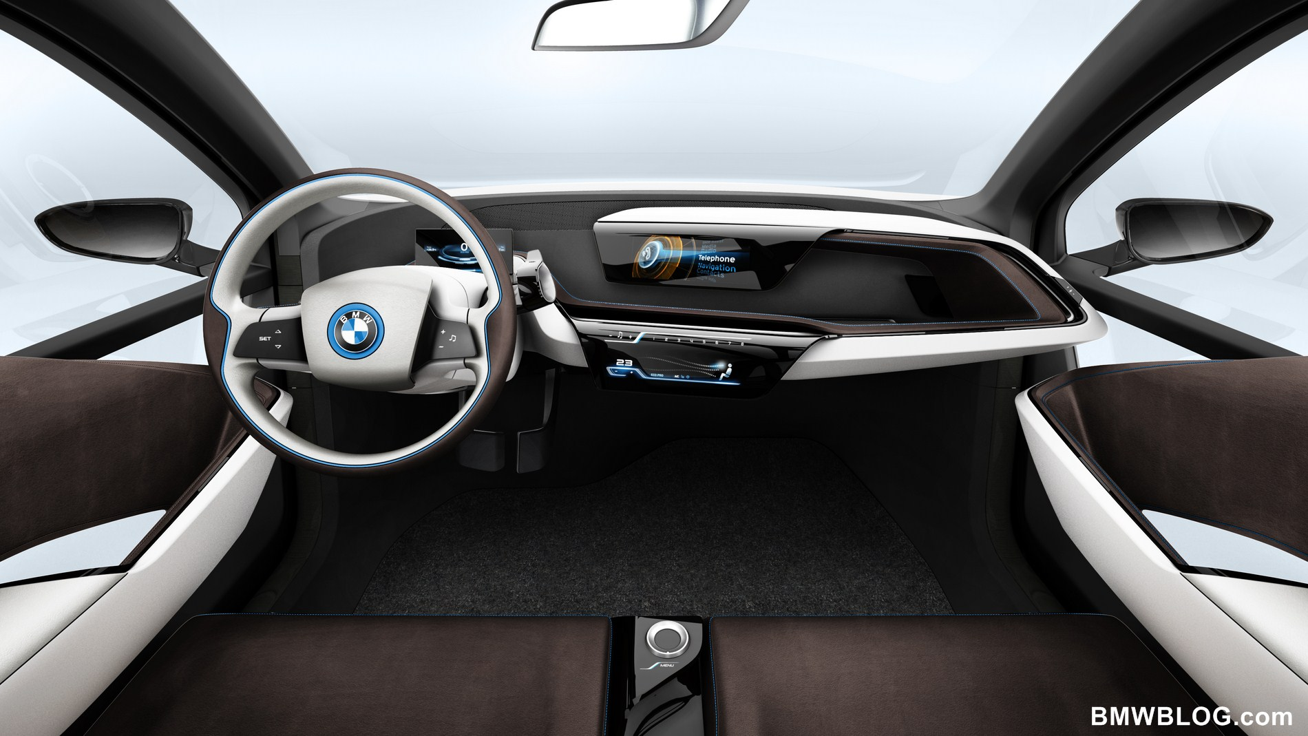 World Premiere Bmw I3 And I8 Vehicle Electrical System Control Units Location