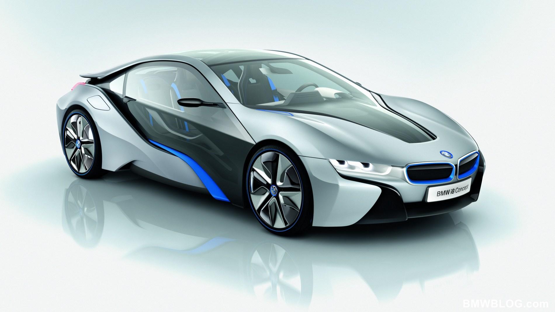 Bmw I8 Concept Emotional Dynamic And Efficient 2012 bmw i8 i3 concept cars 6
