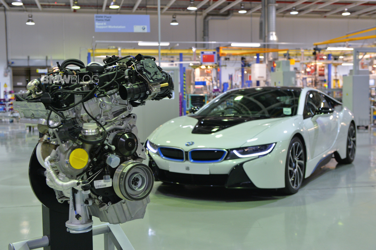 Uk Power Behind New Bmw I8