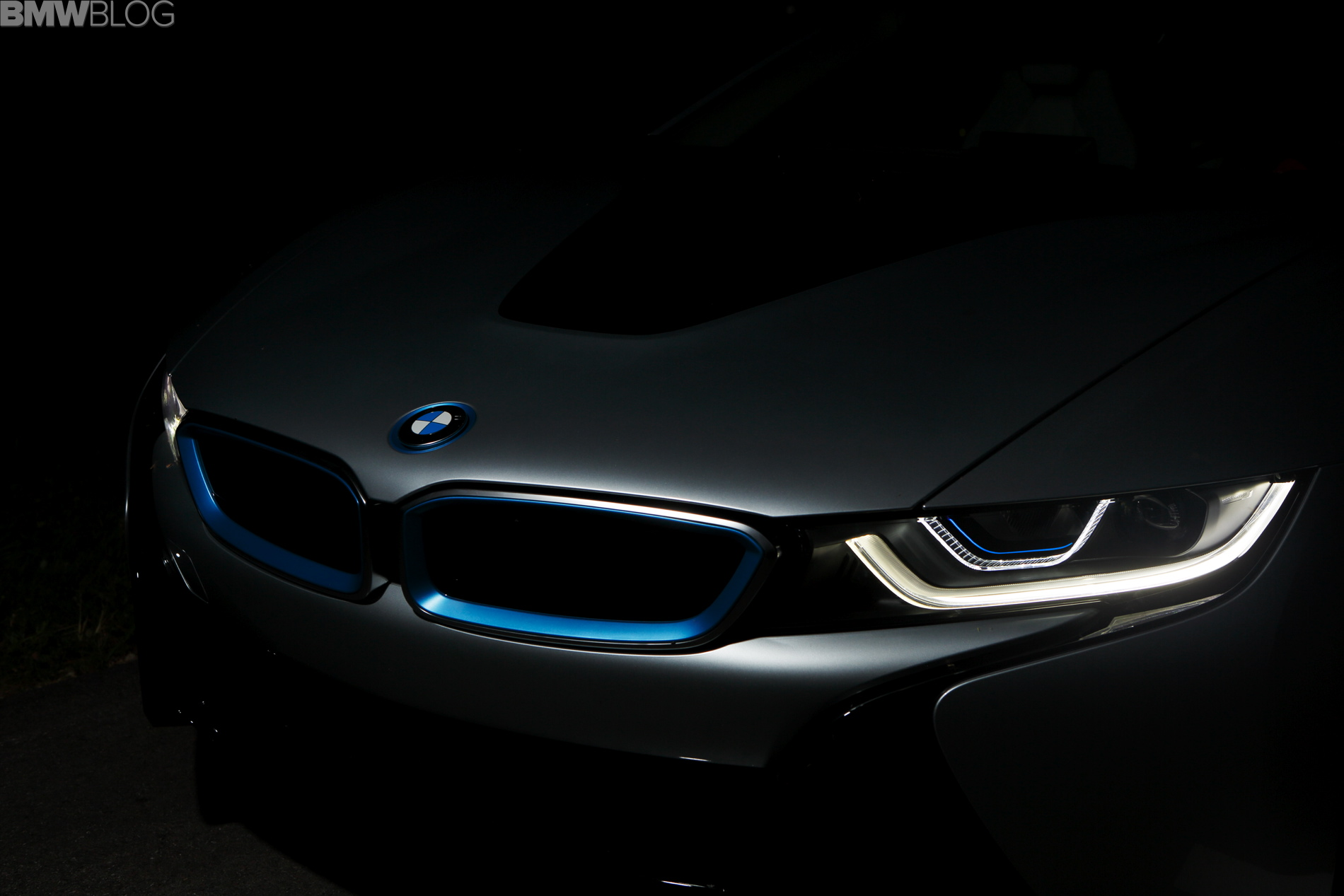 Bmw I8 First Production Vehicle To Feature Laser Light