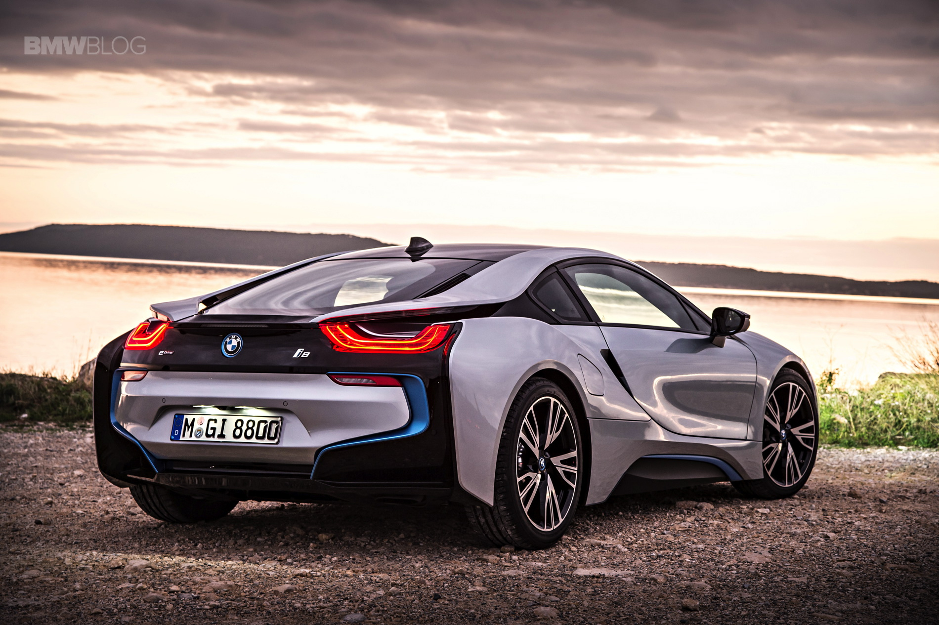 bmw i8 laser lights images 18