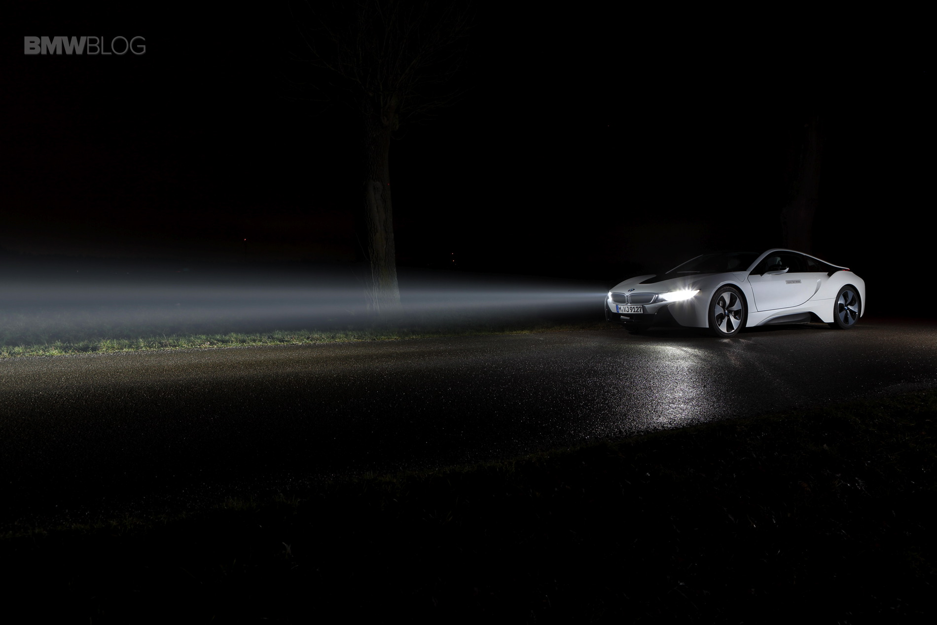Bmw I8 Laser Lights Available As An Option For The First Time In The Us