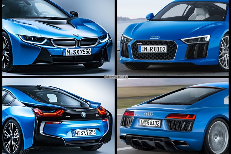 Would You Buy The Bmw I8 Or The Audi R8