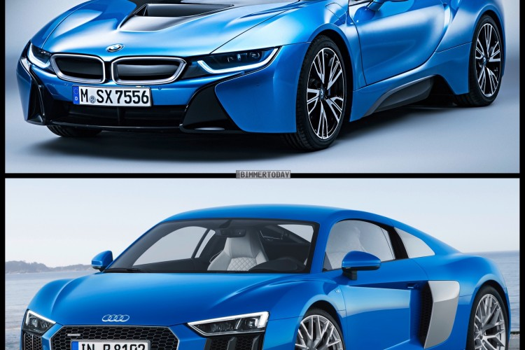 Bmw I8 Vs Audi R8 Drag Race