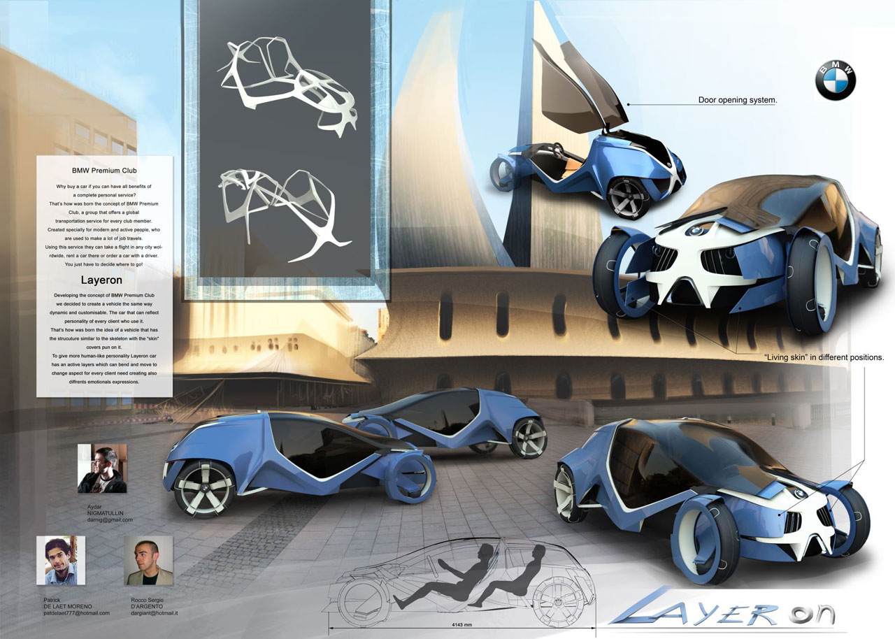 Bmw Layeron Concept Personalized Rent Car