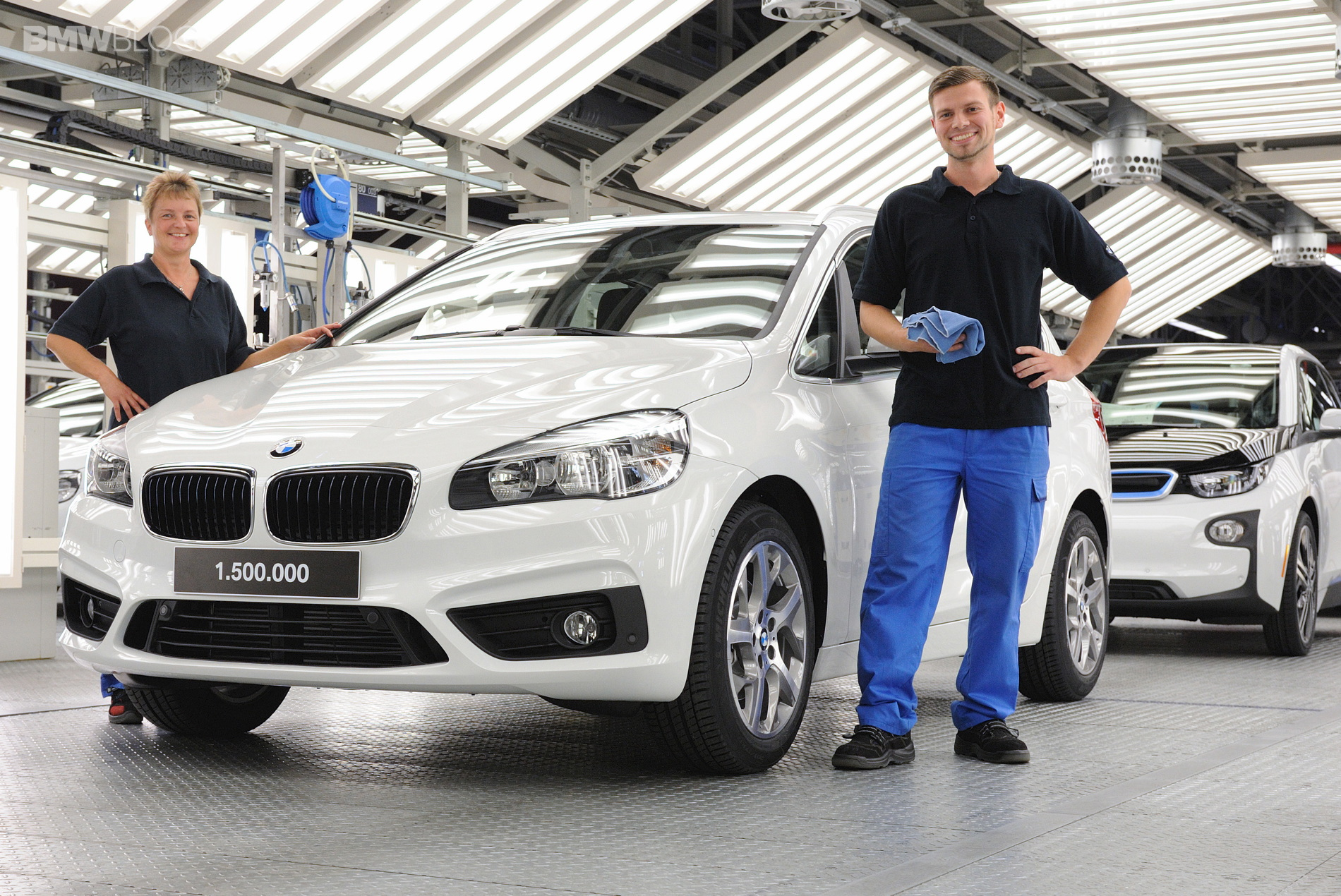 Bmw Celebrates 1 5 Million Cars Built At Leipzig Plant