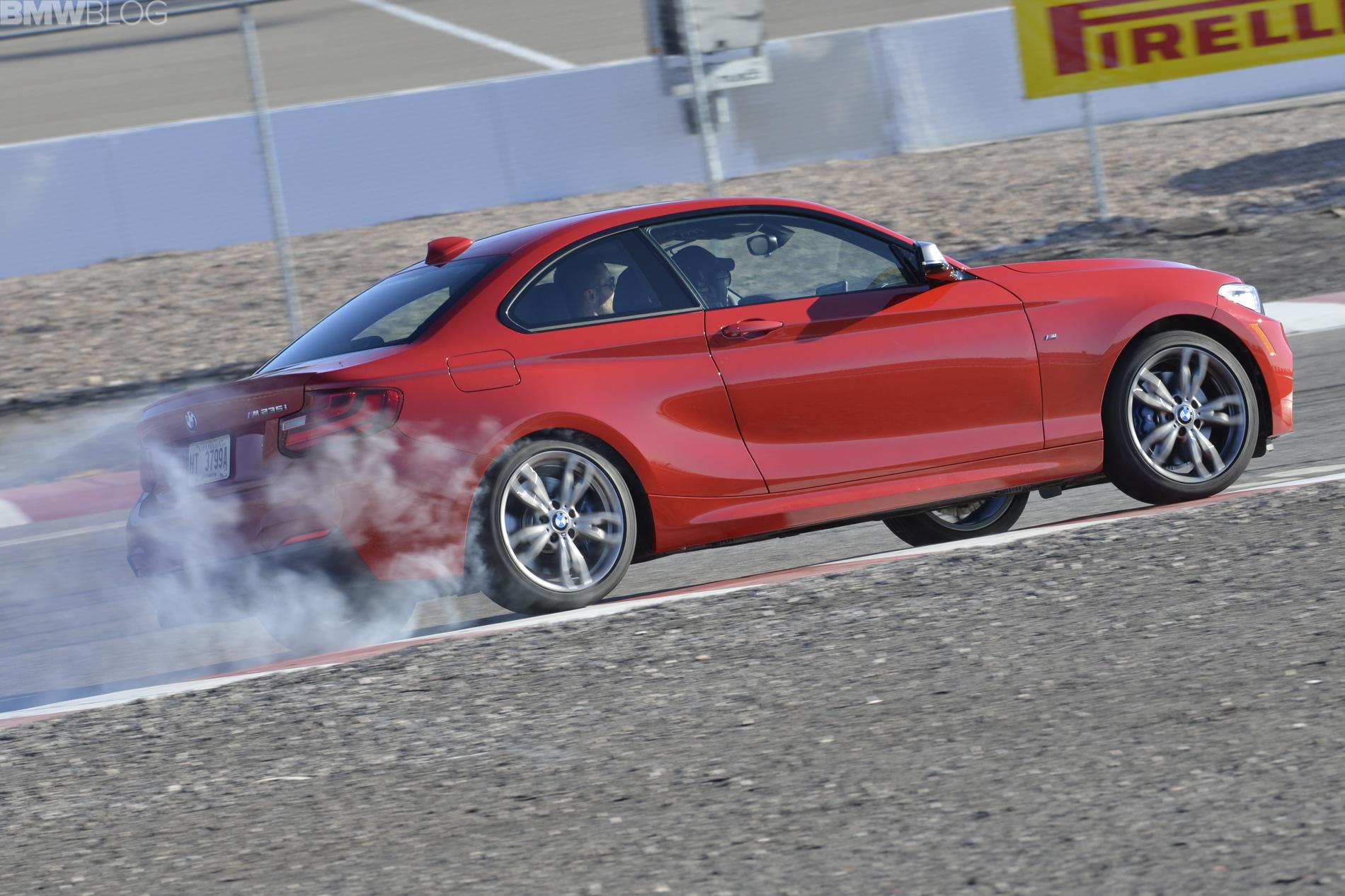 bmw m235i drifting 01