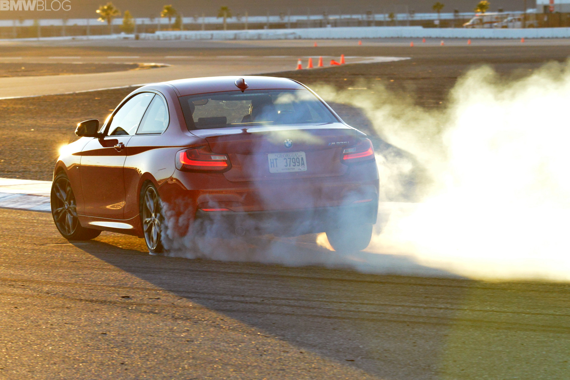 Smoking Tires & Drifting BMW M235i
