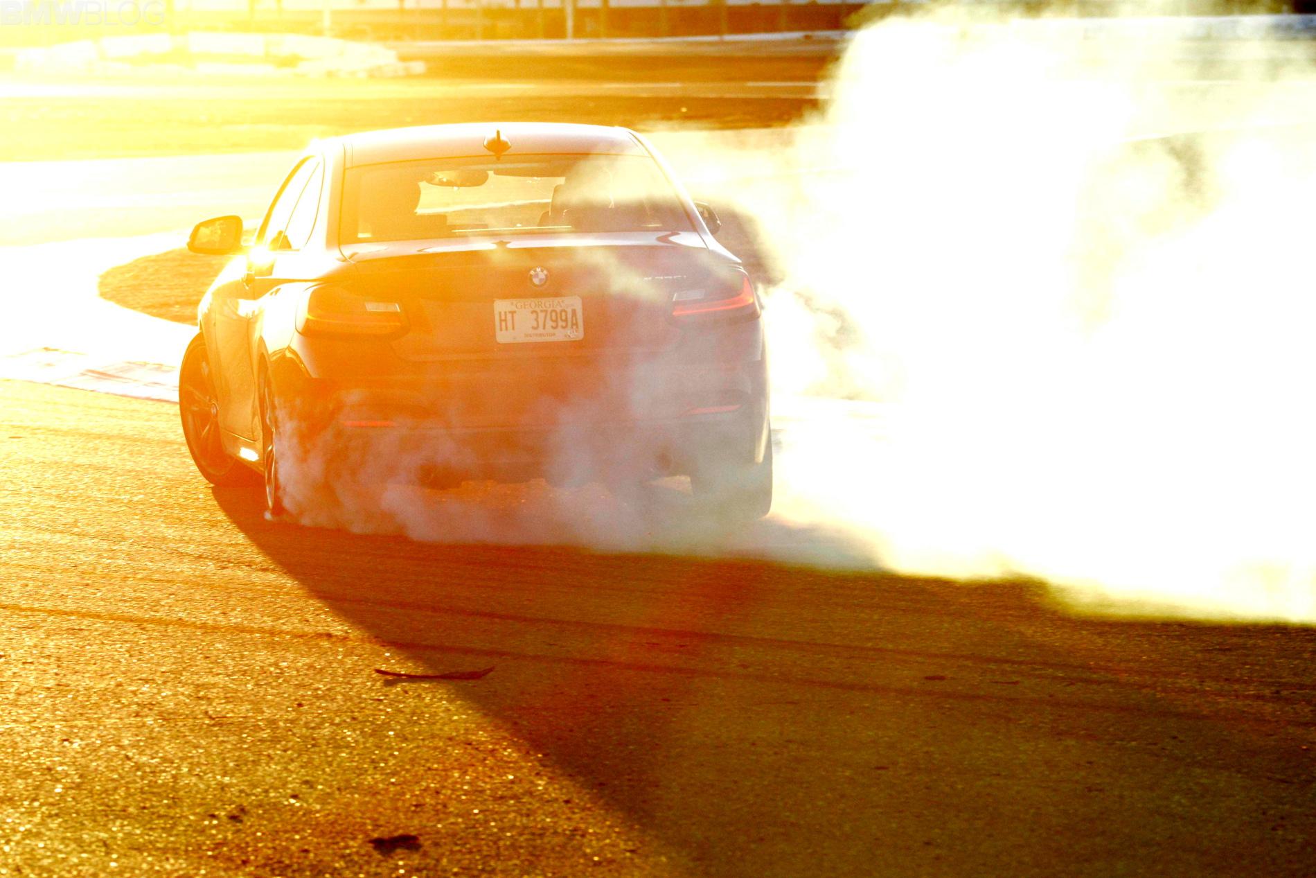 bmw m235i drifting 38