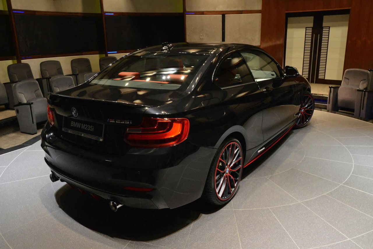 bmw m235i coupe with m performance parts. Black Bedroom Furniture Sets. Home Design Ideas