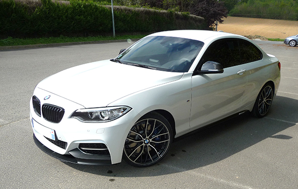 bmw m235i with m performance parts. Black Bedroom Furniture Sets. Home Design Ideas