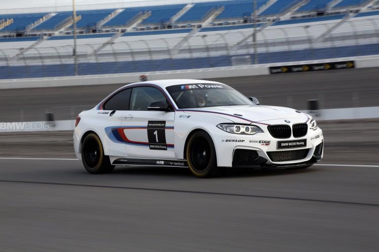 bmw m235i race car track 45 750x500