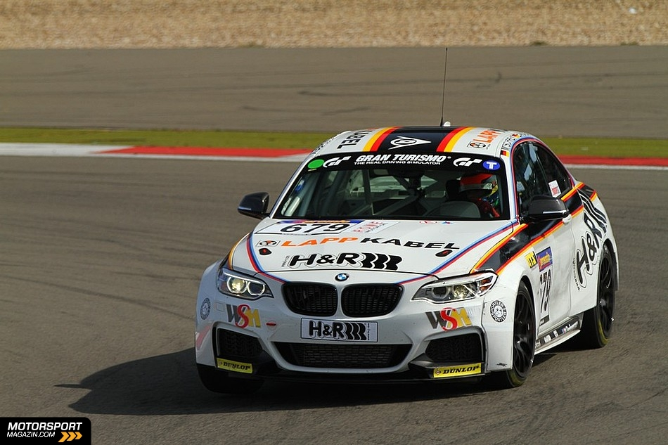 BMW M235i Racing Cars Crash at Nurburgring