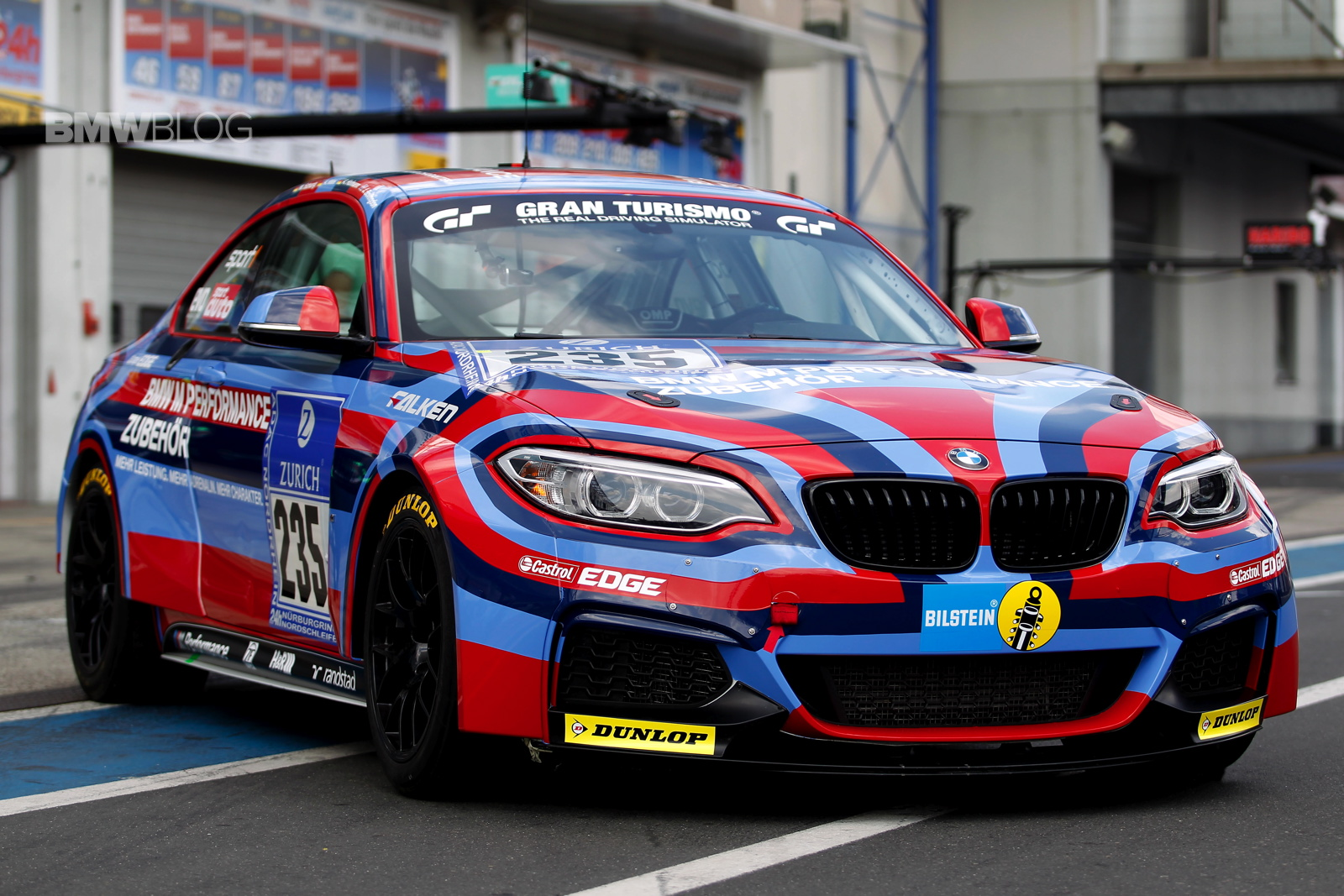bmw m235i special livery nurburgring 0