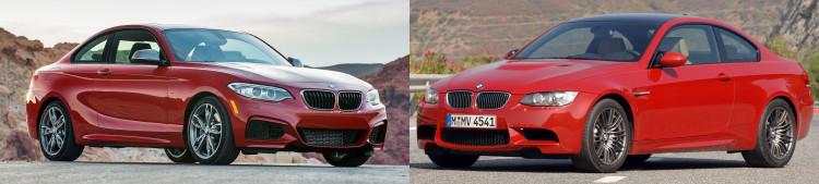 bmw m235i vs bmw m3 750x169