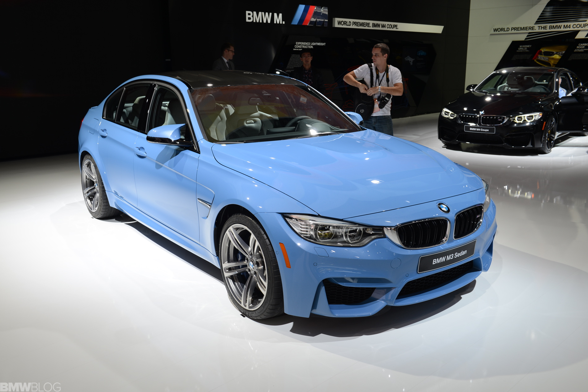 2014 Naias Bmw M3 In Yas Marina Blue