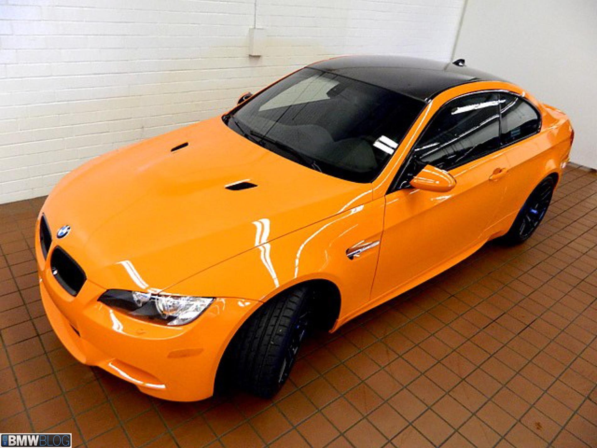bmw m3 fire orange 03