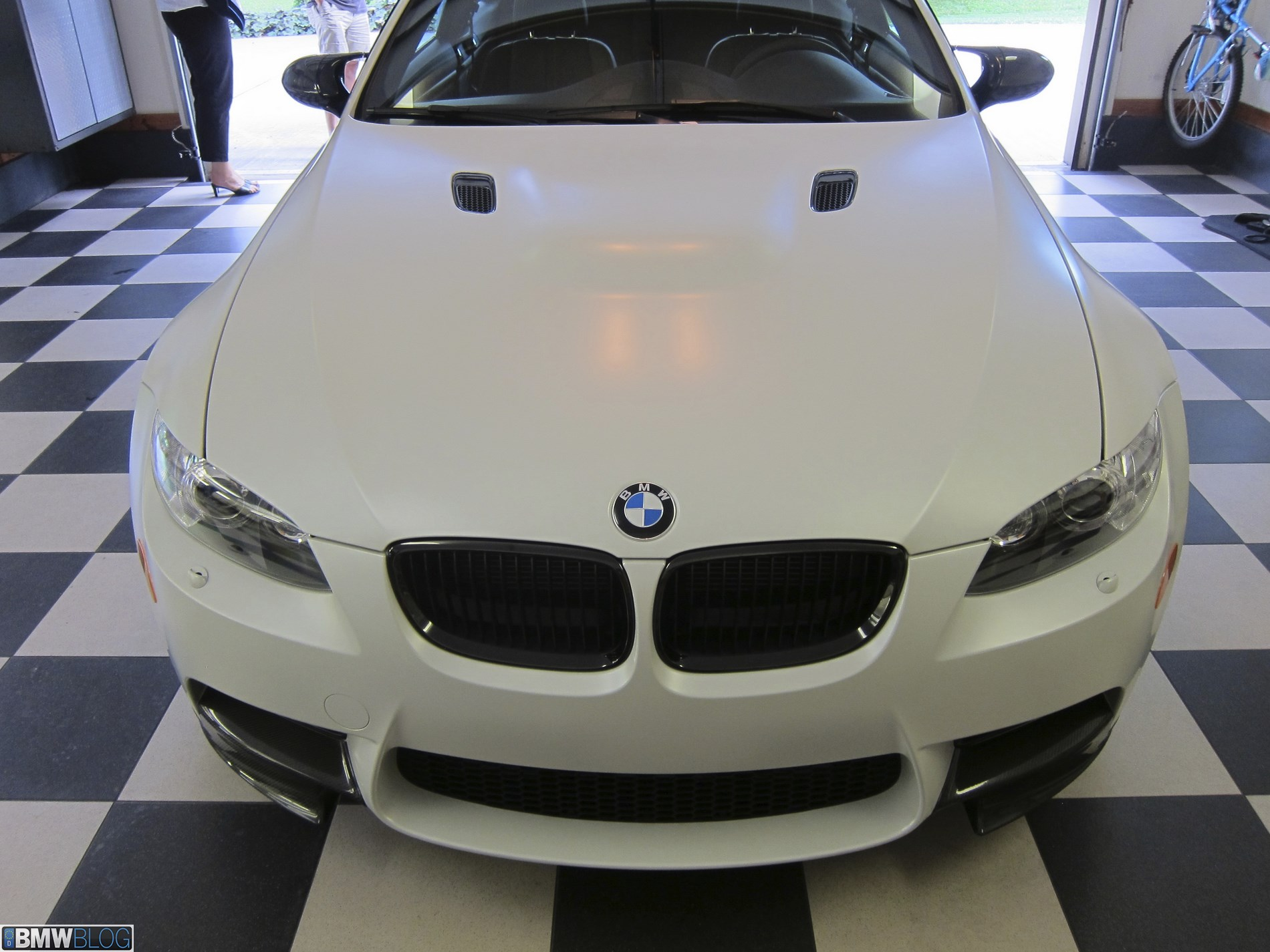 Bmw M3 Frozen White 34