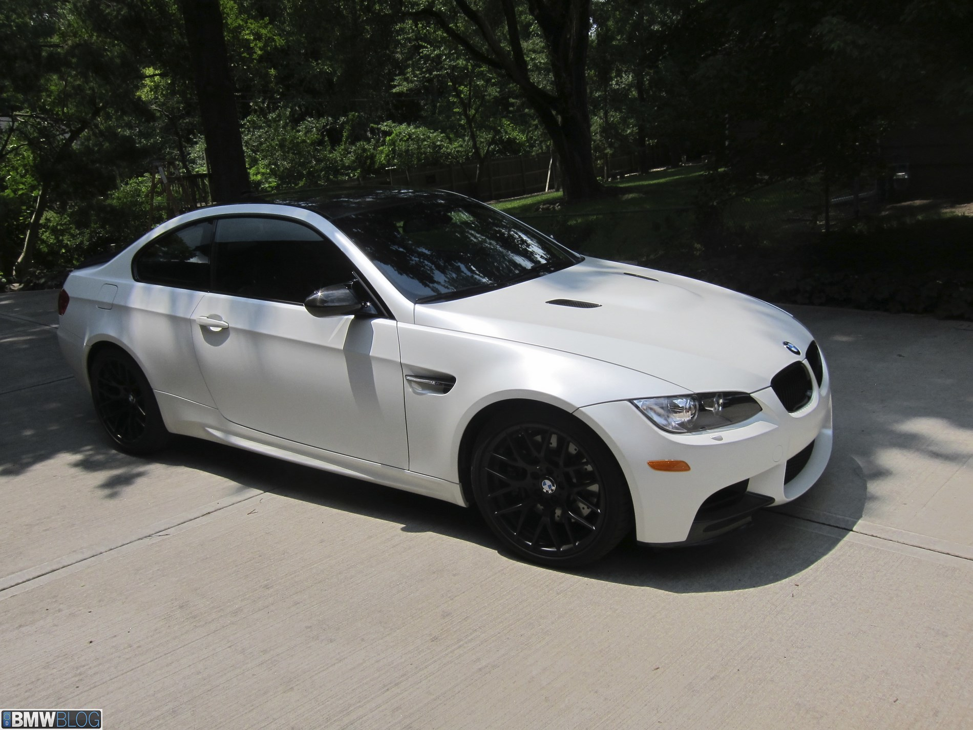 Bmw M3 Frozen White 50