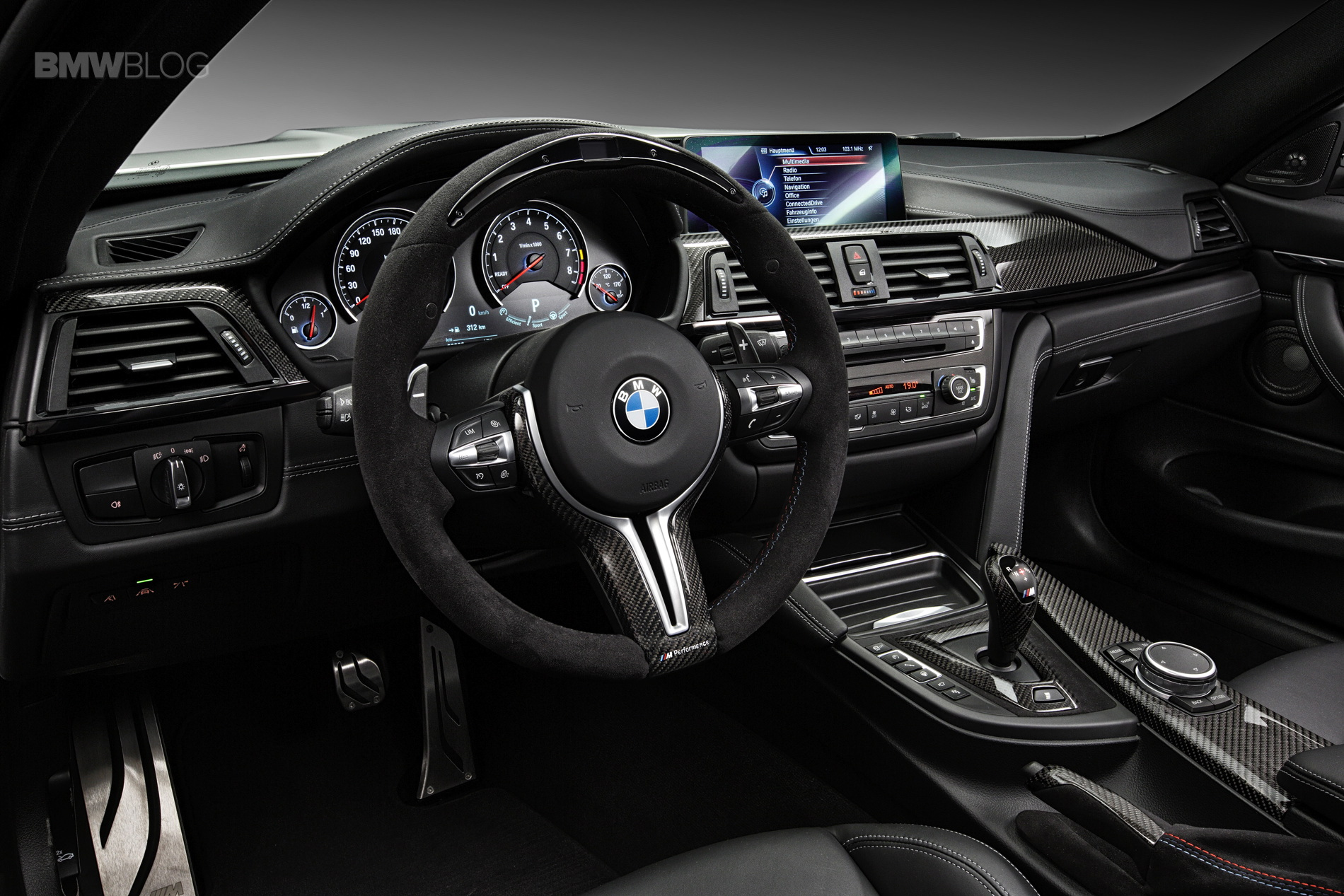 New M Performance Parts For Bmw M3 Bmw M4 Coupe And Bmw