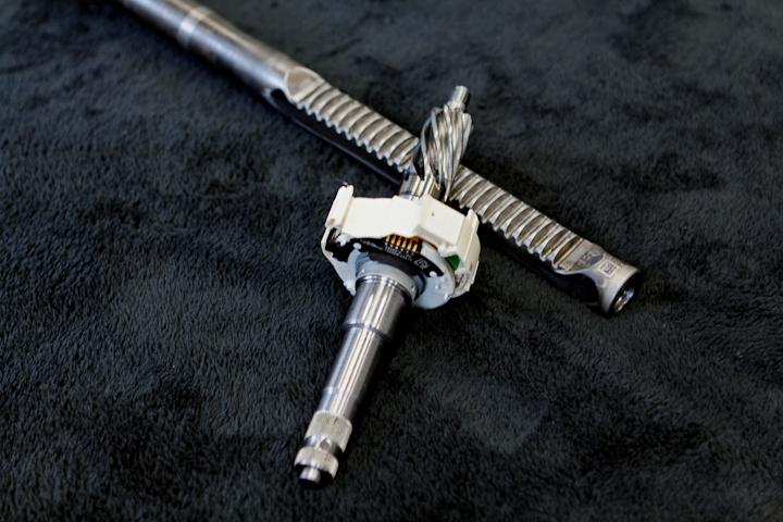 electromechanical servotronic steering