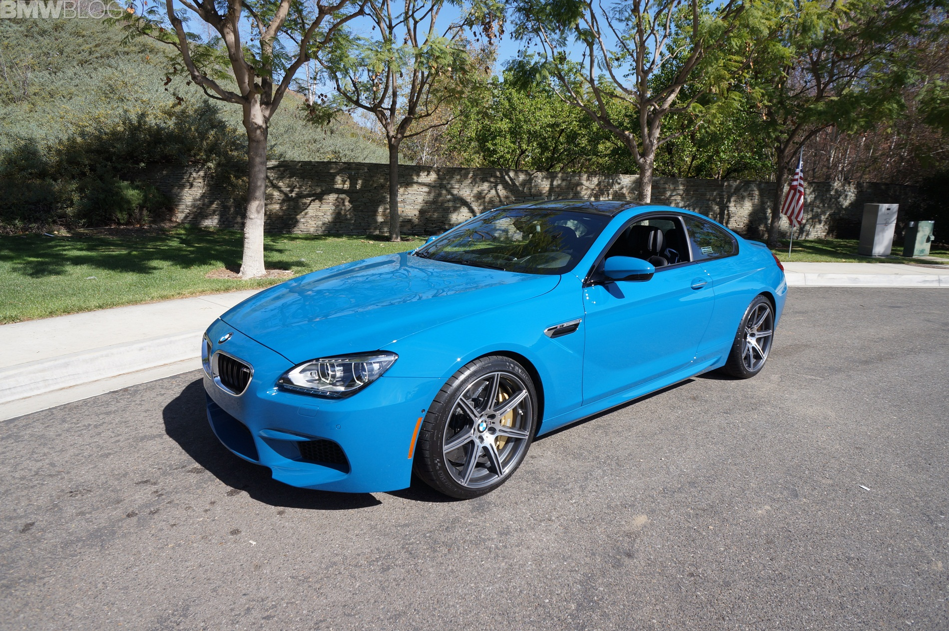 2014 Bmw M6 Coupe Competition Package In Laguna Seca Blue