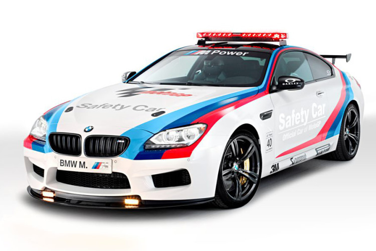 bmw m6 safety car 750x500