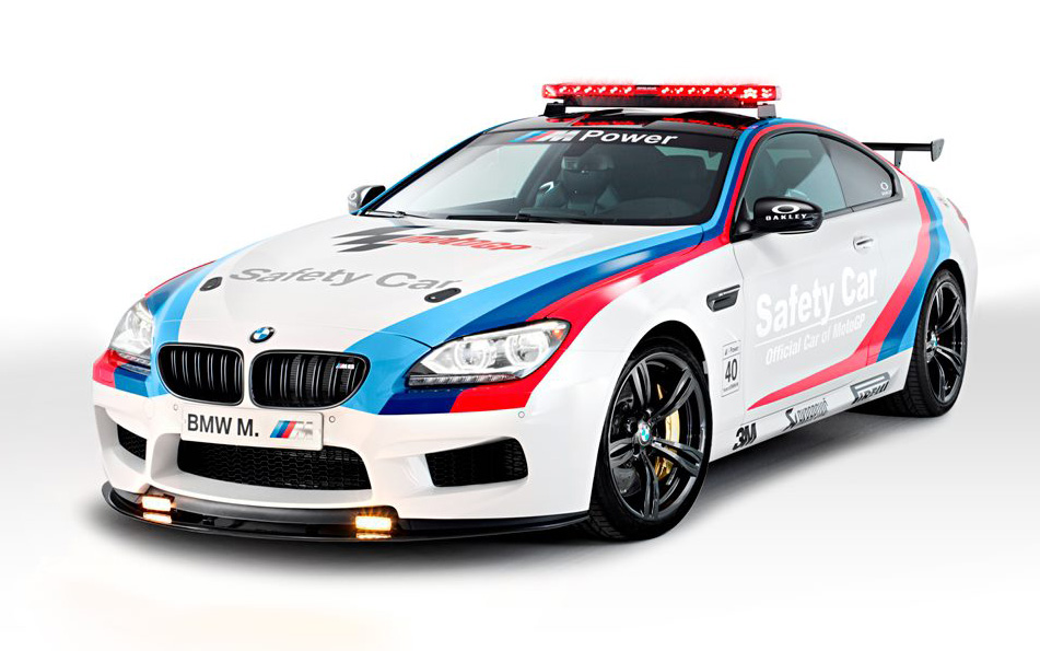 bmw m6 safety car