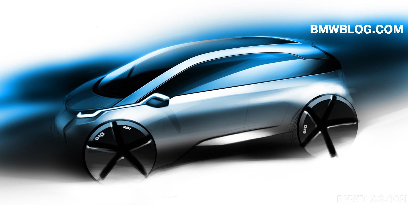 bmw megacity car electric