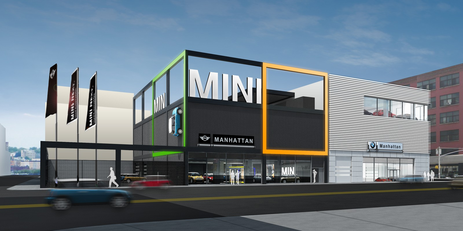 Manhattan Car Dealerships >> Bmw To Renovate Nyc Bmw And Mini Dealerships For A Sustainable Future