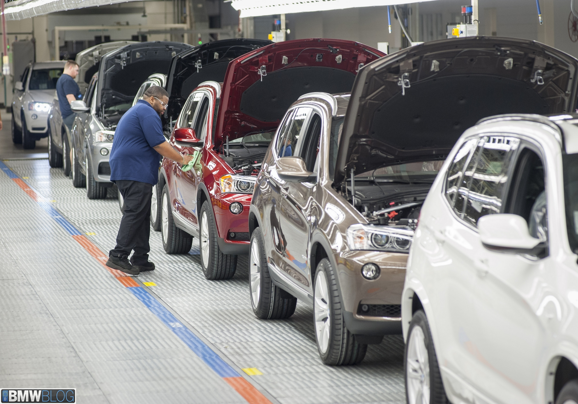 Bmw Plant Spartanburg >> BMW Spartanburg Plant Reports Record Production Volume