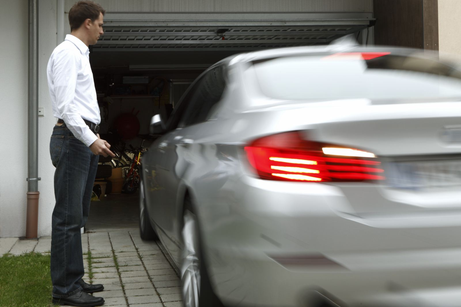 bmw remote controlled parking 5