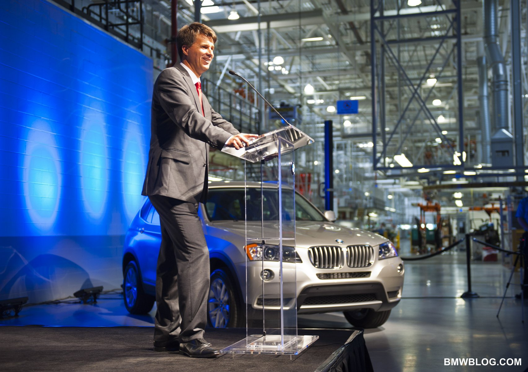 bmw spartanburg plant