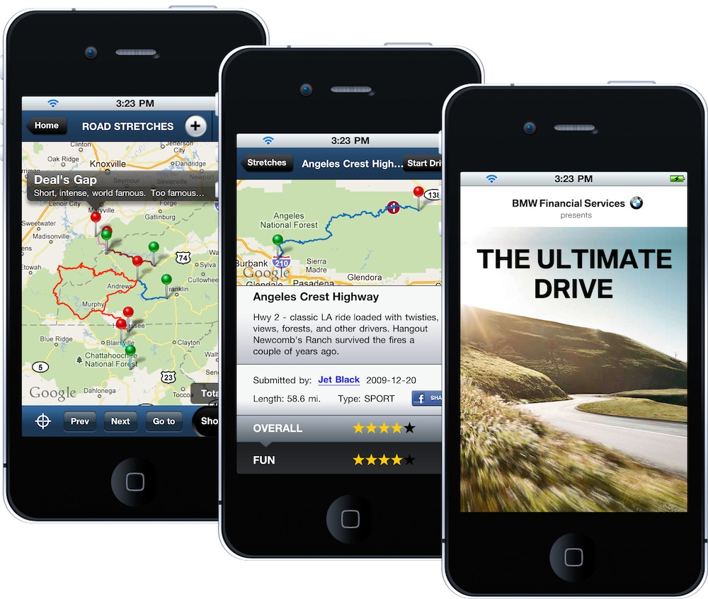bmw ultimate driving app