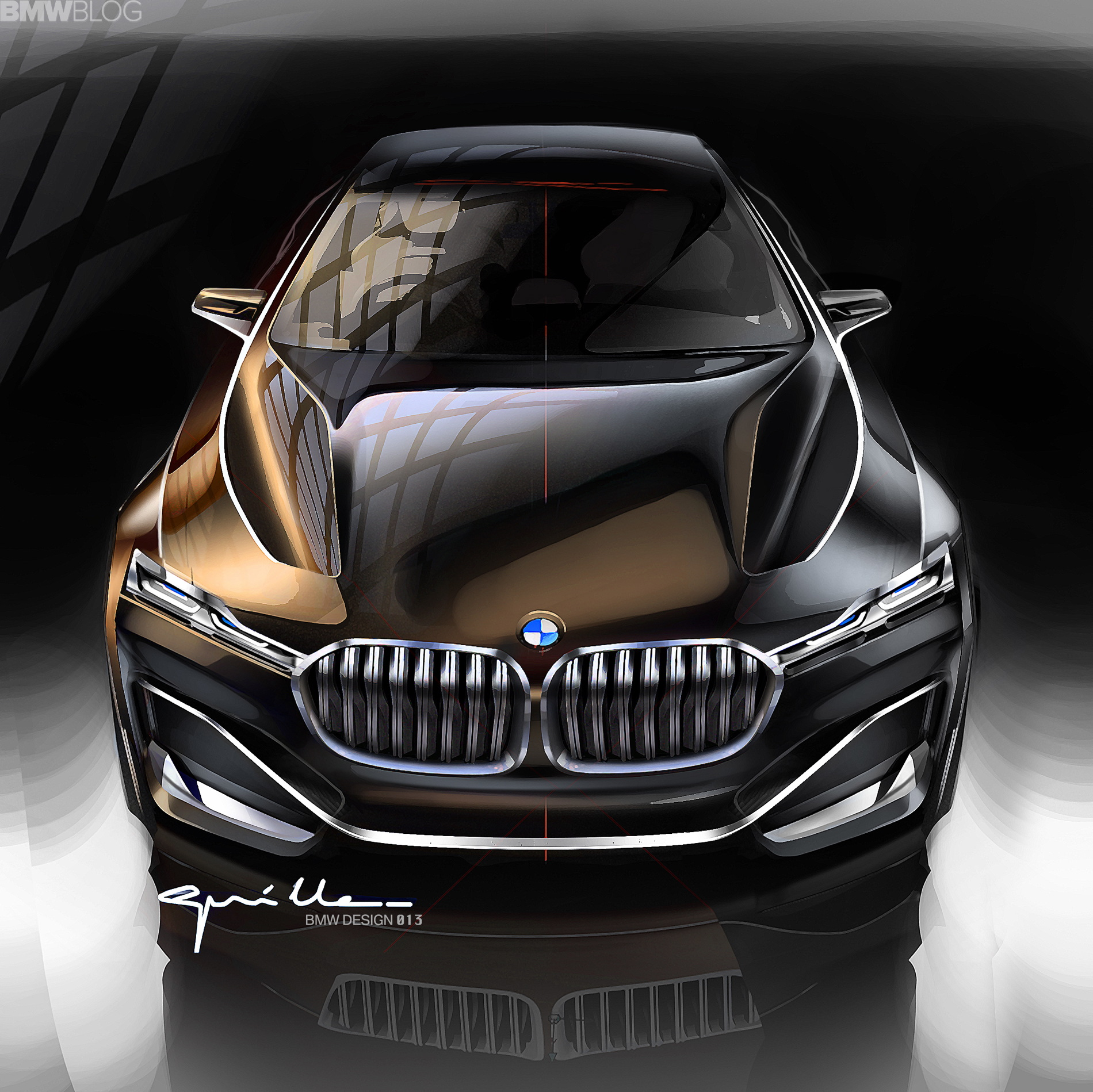 Bmw Rumored To Greenlight The 9 Series Coupe Positioned