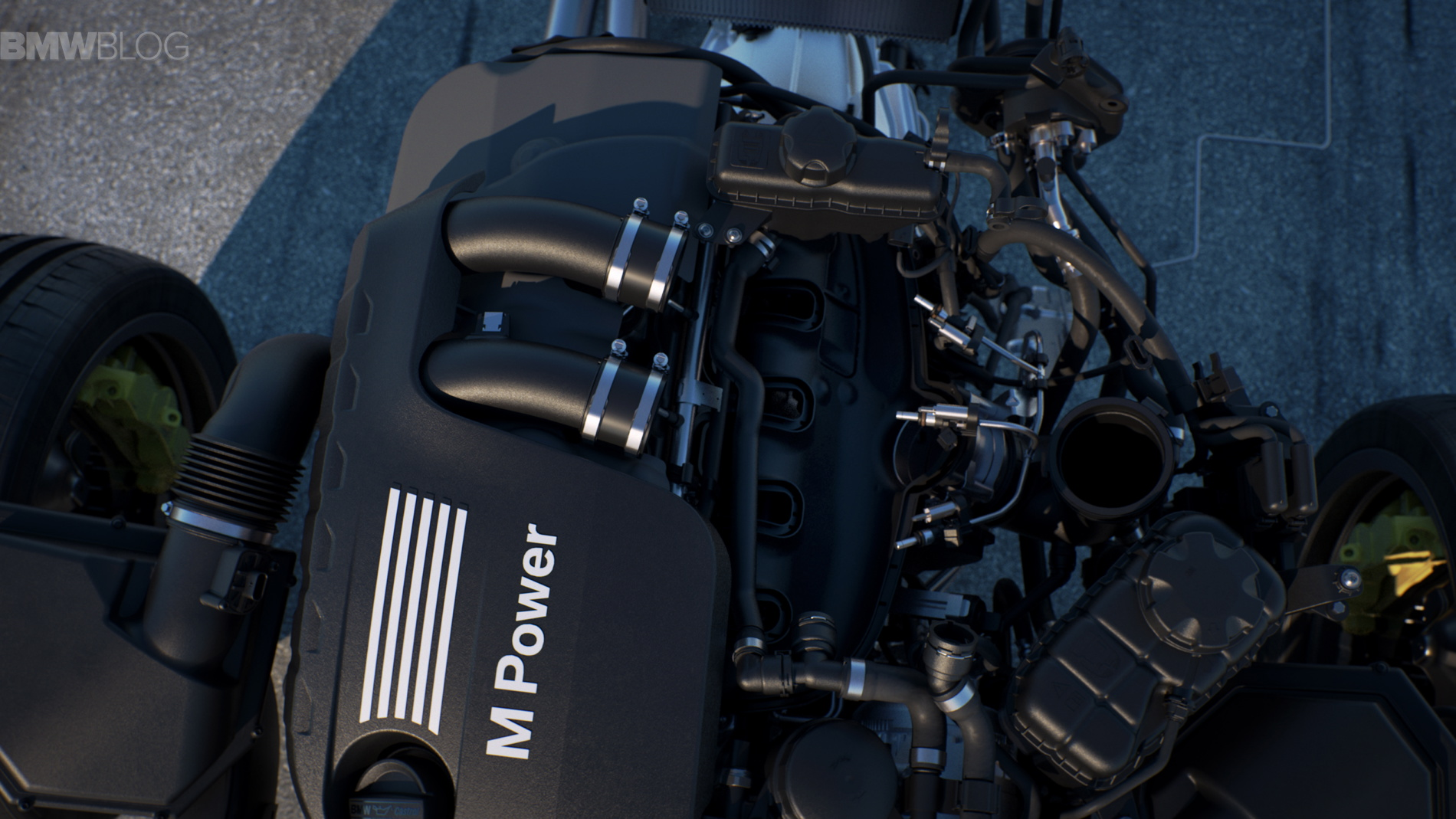 world premiere bmw m4 motogp safety car with water injection. Black Bedroom Furniture Sets. Home Design Ideas