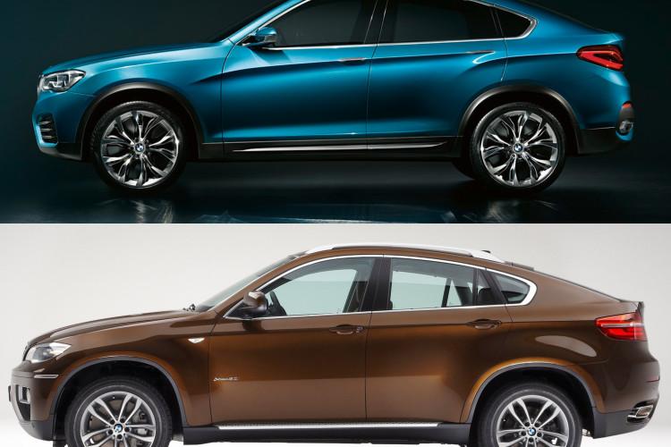 bmw x4 bmw x6 comparison 11 750x500