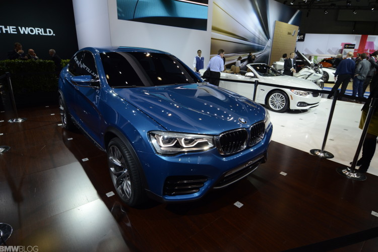 Bmw X4 And X3 Facelift To Be Unveiled At 2014 New York Auto Show