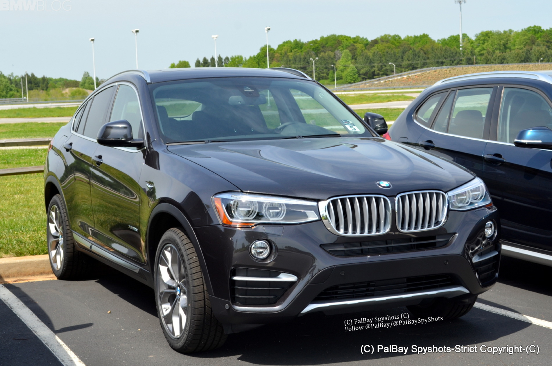 Bmw X3 Facelift And X4 Sac Spotted Together