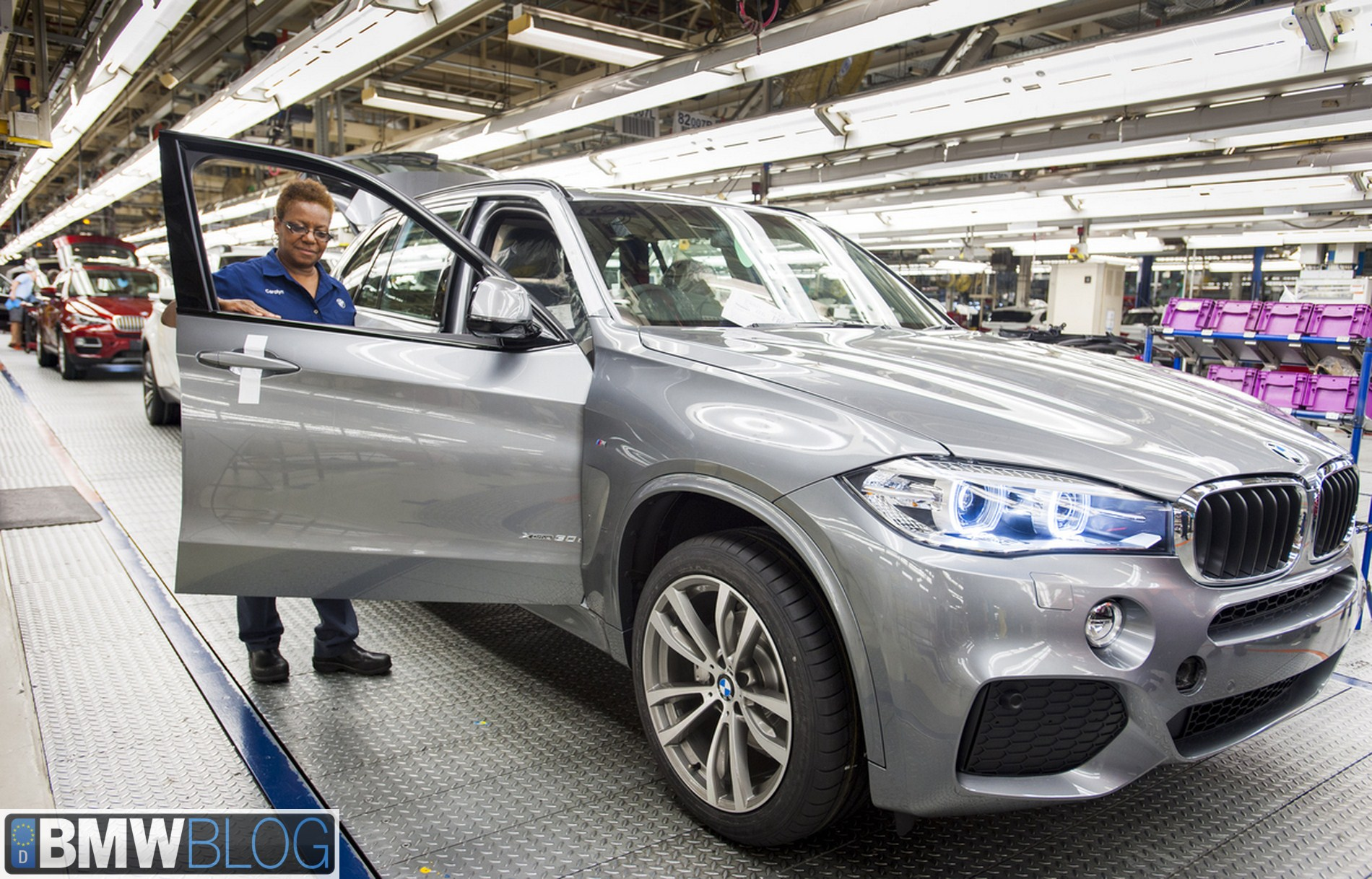 bmw x5 production spartaburg 01