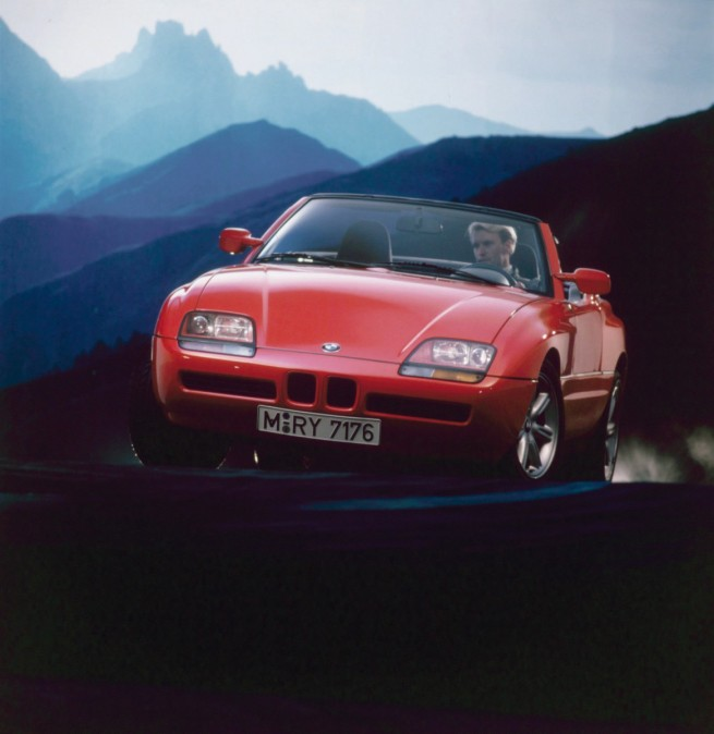 Bmw Z1 Door: 25 Years Of The BMW Z1