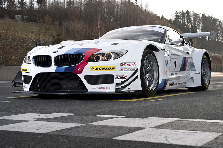 BMW Z4 GT3 to represent BMW Motorsport at thr 24 Hours Nurburgring