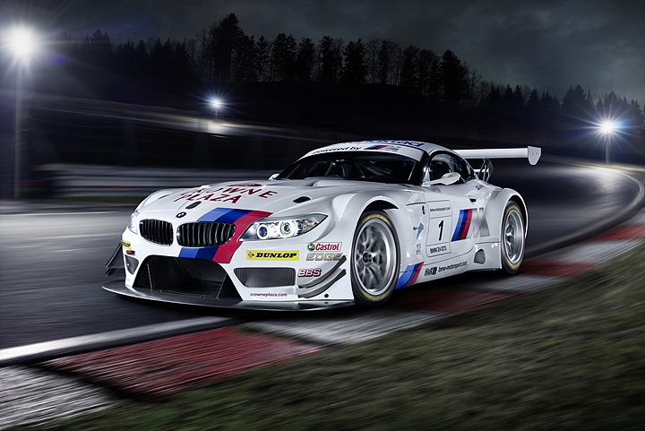 BMW Motorsport drivers for the Nürburgring 24 Hours