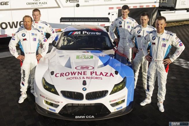 2013 BMW Z4 GTE International Press Launch.