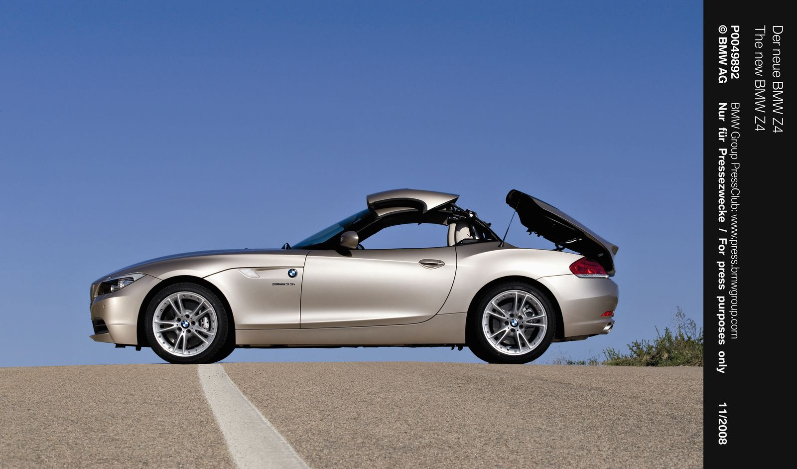 2009 Bmw Z4 Has 3 Series Convertible To Thank