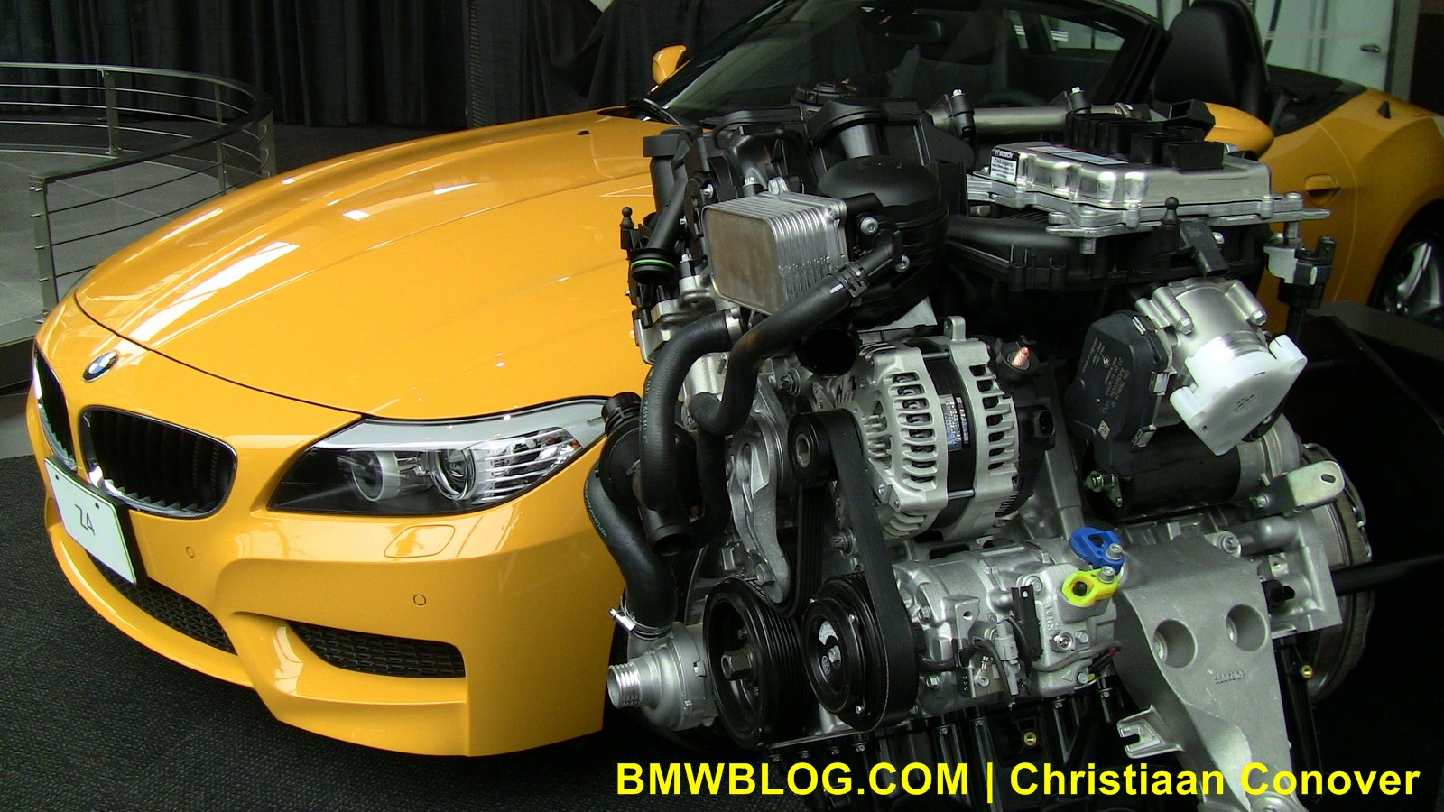 bmw z4 sdrive28i yellow 17