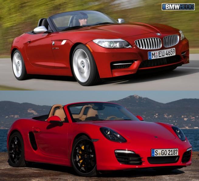 Bmw Z4 Red: 2012 BMW Z4 SDrive35is Vs. 2013 Porsche Boxster S