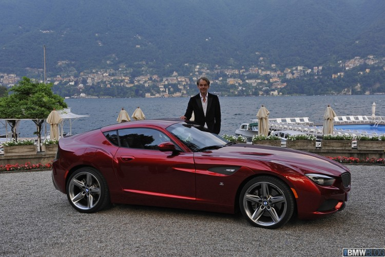Real Life Video Bmw Zagato Coupe With Engine Noise 400 Hp
