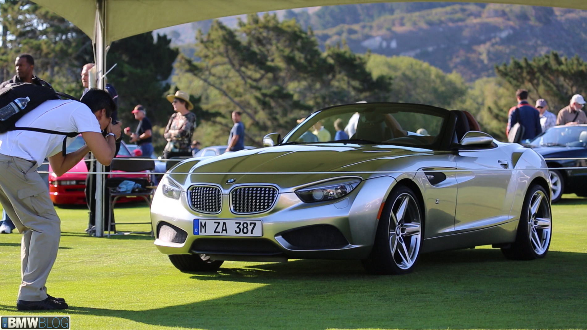 Real Life Photos Bmw M8 And Zagato Roadster At Pebble Beach