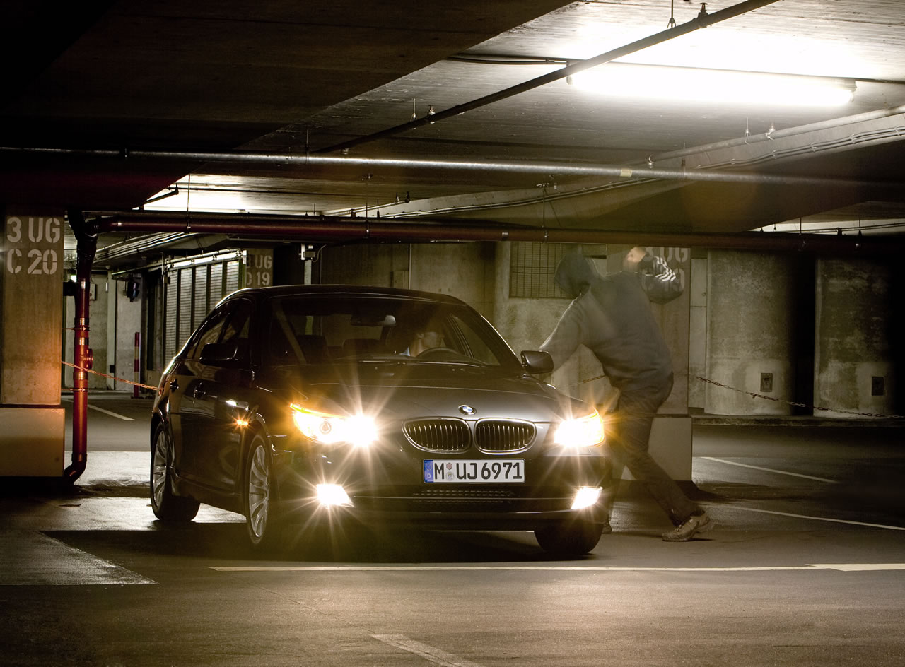 BMW 5-Series Security following the X5\'s steps